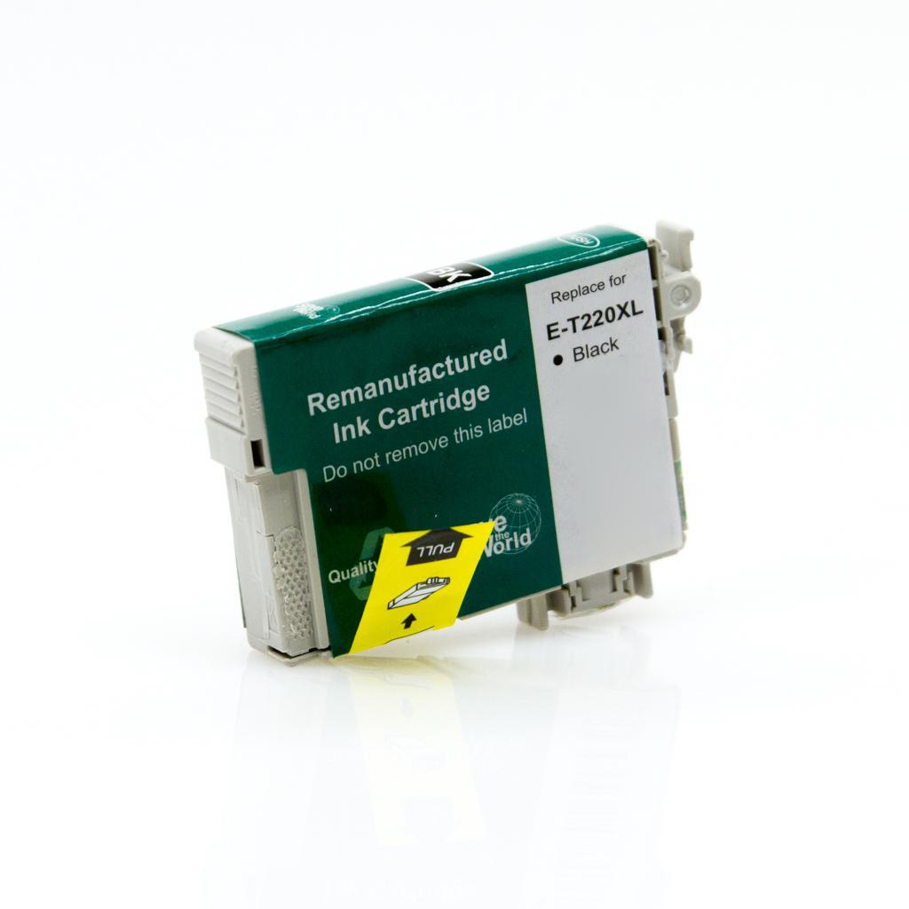 REMANUFACTURED EPSON T220XL BLACK CARTRIDGE