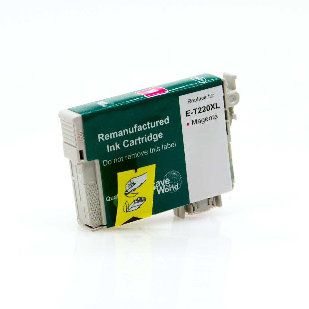 REMANUFACTURED EPSON T220XL MAGENTA CARTRIDGE