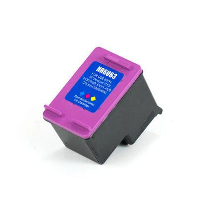 Hewlett Packard F6U63AN (HP 63xl) Remanufactured Color Ink Cartridge