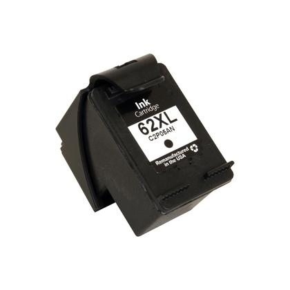 REMANUFACTURED HP C2P05AN (62XL) HIGH YIELD BLACK INK CARTRIDGE