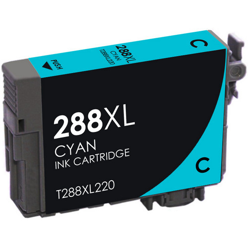 REMANUFACTURED EPSON T288XL HIGH YIELD CYAN CARTRIDGE