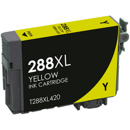 REMANUFACTURED EPSON T288XL (T288XL420) HIGH YIELD YELLOW INK CARTRIDGE