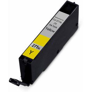 COMPATIBLE CANON CLI-271XL (CLI271XL) HIGH YIELD YELLOW INK CARTRIDGE