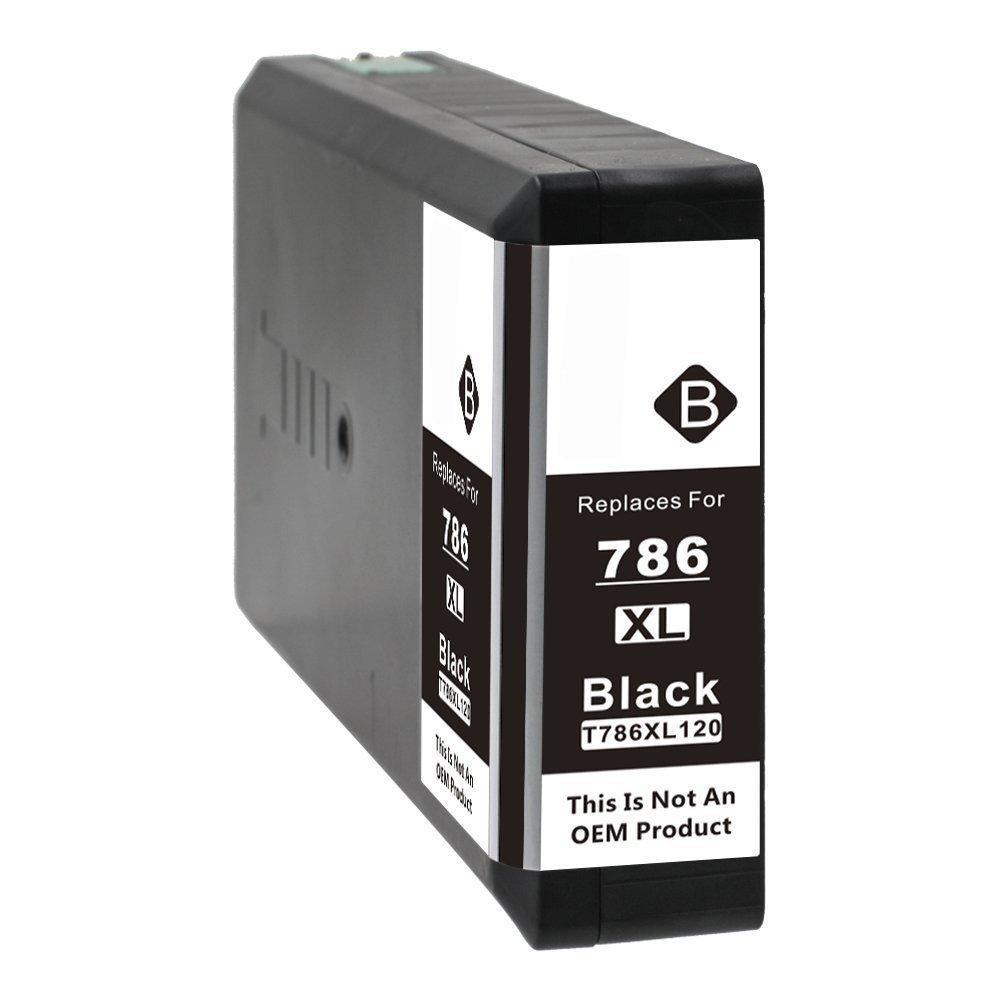 REMANUFACTURED EPSON T786 BLACK CARTRIDGE (T786XL120)