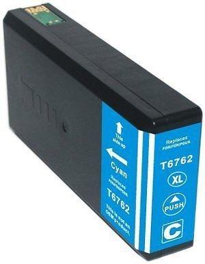REMANUFACTURED EPSON T676 CYAN CARTRIDGE (T676XL220)