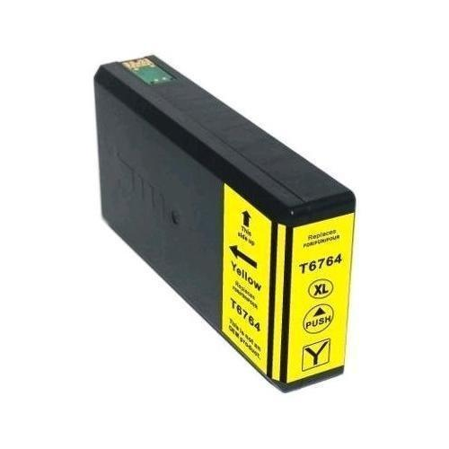 REMANUFACTURED EPSON T676 YELLOW CARTRIDGE (T676XL420)