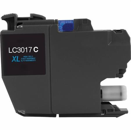 COMPATIBLE BROTHER LC3017BK HIGH YIELD CYAN INKJET CARTRIDGE