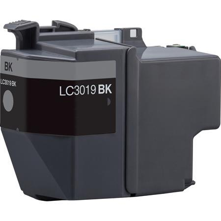 COMPATIBLE BROTHER LC3019BK SUPER HIGH YIELD BLACK INKJET CARTRIDGE