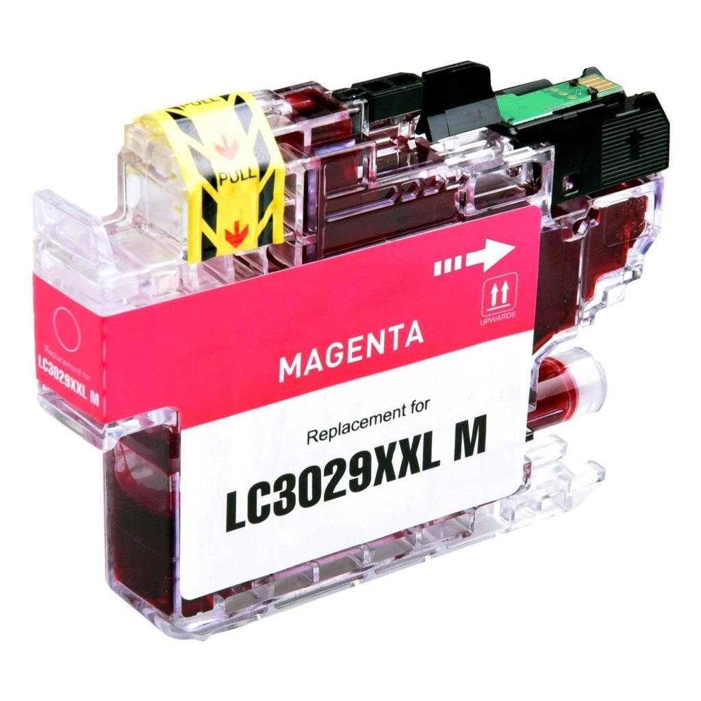 COMPATIBLE BROTHER LC3029M SUPER HIGH YIELD MAGENTA INK CARTRIDGE