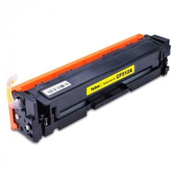 Compatible HP LasterJet CF512A (204A) Standard Capacity Yellow Toner Cartridge