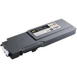 COMPATIBLE DELL 331-8430 (MD8G4) EXTRA HIGH YIELD YELLOW LASER TONER CARTRIDGE