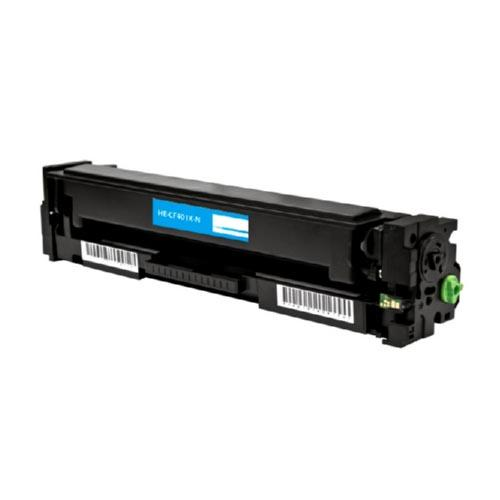 COMPATIBLE HP CF401X (201X) HIGH YIELD CYAN LASER TONER CARTRIDGE