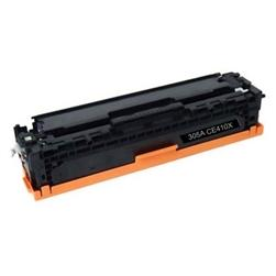 COMPATIBLE HP CE410X (305X) HIGH YIELD BLACK LASER TONER CARTRIDGE