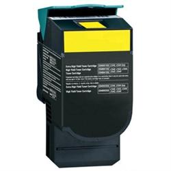 COMPATIBLE LEXMARK C544X2YG YELLOW LASER TONER CARTRIDGE