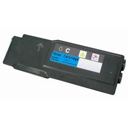 COMPATIBLE XEROX 106R02225 / 106R02241 (PHASER 6600) HIGH YIELD CYAN LASER TONER CARTRIDGE