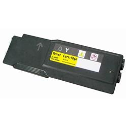 COMPATIBLE XEROX 106R02227 / 106R02243 (PHASER 6600) HIGH YIELD YELLOW LASER TONER CARTRIDGE