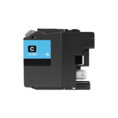 COMPATIBLE BROTHER LC10EC SUPER HIGH YIELD CYAN INK CARTRIDGE