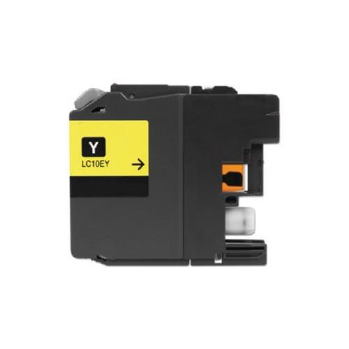 COMPATIBLE BROTHER LC10EY SUPER HIGH YIELD YELLOW INK CARTRIDGE