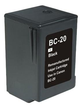 COMPATIBLE CANON BC-20 (BC20) BLACK INK CARTRIDGE