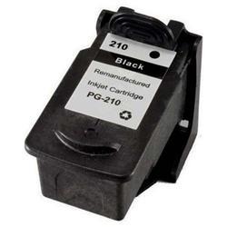 REMANUFACTURED CANON PG-210 (PG210) PIGMENT BLACK INK CARTRIDGE