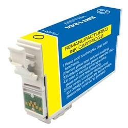 REMANUFACTURED EPSON T1244 (T124420) YELLOW INK CARTRIDGE