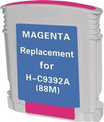 REMANUFACTURED HP C9392AN, C9387AN (88XL) HIGH YIELD MAGENTA INK CARTRIDGE