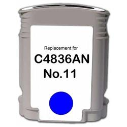 REMANUFACTURED HP C4836AN (11) CYAN INK CARTRIDGE