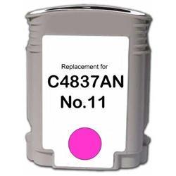 HP Remanufactured Ink Cart C4837AN/ No. 11 Magenta