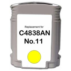 REMANUFACTURED HP C4838AN (11) YELLOW INK CARTRIDGE