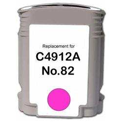 REMANUFACTURED HP C4912AN (82) MAGENTA INK CARTRIDGE