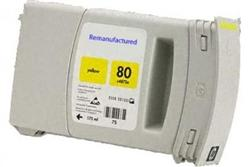REMANUFACTURED HP C4848A (80) YELLOW INK CARTRIDGE