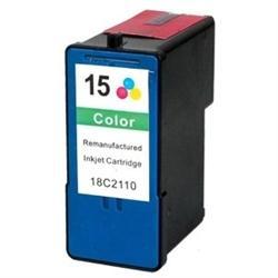 Lexmark Remanufactured Ink Cart 18C2110/ No.15 Color