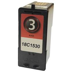 COMPATIBLE LEXMARK 18C1530 (#3) BLACK INK CARTRIDGE