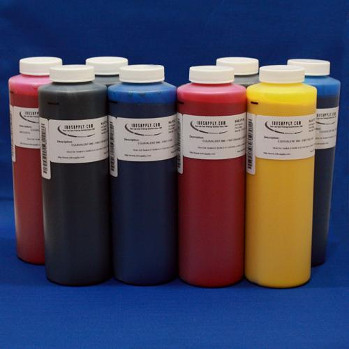 R800 Pint Inkset, 8 Colors C,M,Y,K,PK,Red,Blue, and Gloss Optimizer