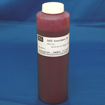 CANON DYEBASE RED INK - PINT BOTTLE FOR i9900, iP8500