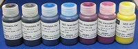 MISPRO ARCHIVAL ULTRACHROME COMPATIBLE INKSET WITH PHOTO BLACK - 60ml (2oz) SET (7) BOTTLES