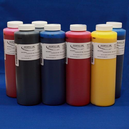 MISPRO ARCHIVAL ULTRACHROME COMPATIBLE INKSET WITH MATTE BLACK - 480ml (16.2oz) SET (7) BOTTLES