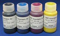 MISPRO ARCHIVAL ULTRACHROME COMPATIBLE INKSET WITH UNIVERSAL BLACK - 60ml (2oz) SET (4) BOTTLES
