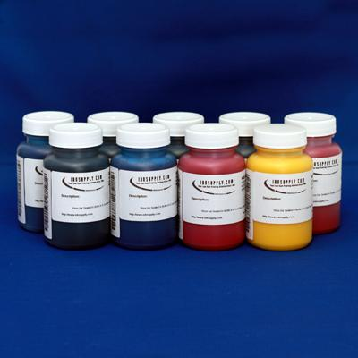MIS K4 INKSET (9) 4 OZ BOTTLES - EQUIVALENT TO EPSON K3 INKS