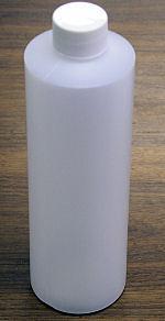16 OZ (473 ml) BOTTLE WITH CAP (NOT NALGENE - WIDE MOUTH)