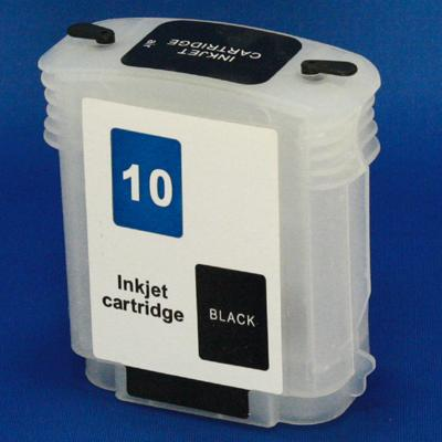 HP 10 Refill Friendly High Capcity Black Cartridge - Empty No Ink