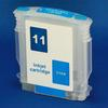 HP 11 Refill Friendly Standard Capacity Cyan Cartridge - Empty No Ink