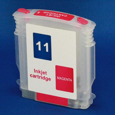 HP 11 Refill Friendly Standard Capacity Magenta Cartridge - Empty No Ink