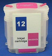 HP Refill Friendly High Capcity  Magenta Cartridge - Empty No Ink