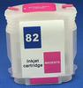 HP Refill Friendly High Capcity Magenta #82 Cartridge - Empty No Ink