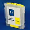 HP 11 Refill Friendly Standard Capacity Yellow Cartridge - Empty No Ink