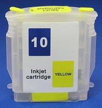 HP Refill Friendly Standard Capacity Yellow Cartridge - Empty No Ink