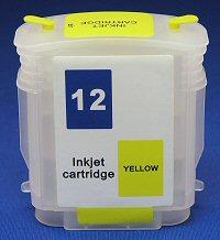 HP Refill Friendly High Capcity Yellow Cartridge - Empty No Ink