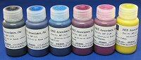 MISPRO Archival UltraChrome Compatible Color Inkset 6 Colors C,M,Y,MK (Univ Black), LC,LM - six 60ml (2oz) bottles