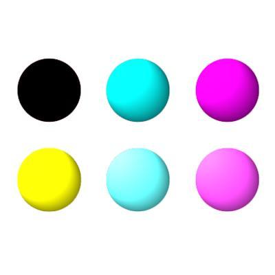 MISPRO Archival UltraChrome Compatible Color Inkset 6 Colors C,M,Y,K (Matte Black), LC, LM - six gallon bottles